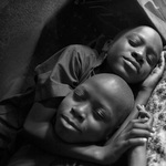 Two Children Resting, Uganda