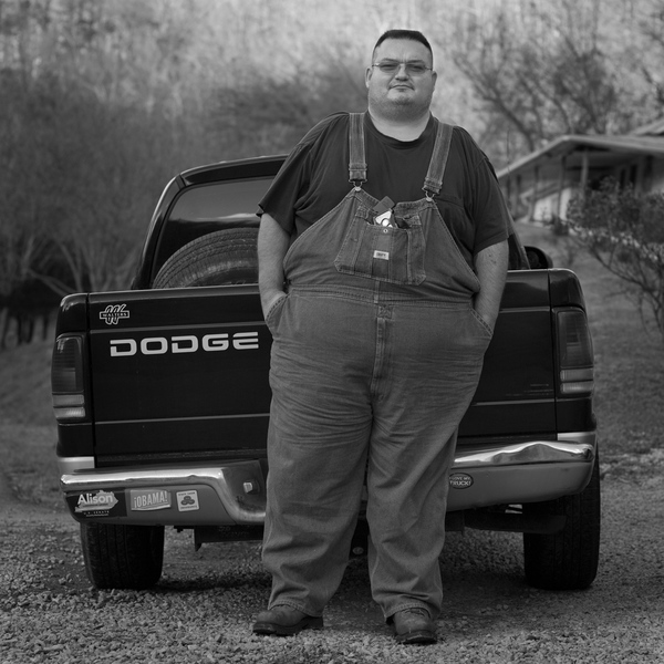 Man with Truck, Martin County, 2014